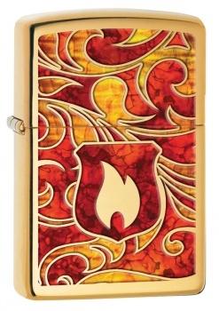 Zippo zapalovač 24186 Zippo Shield