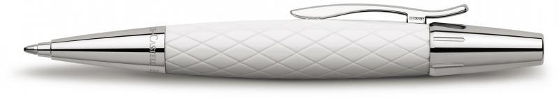 Faber Castell E-Motion Rhombus White, kuličkové pero