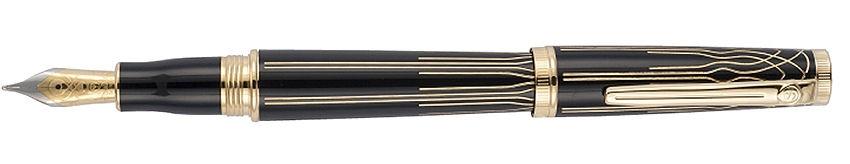 Scrikss Heritage Black Gold, plnicí pero