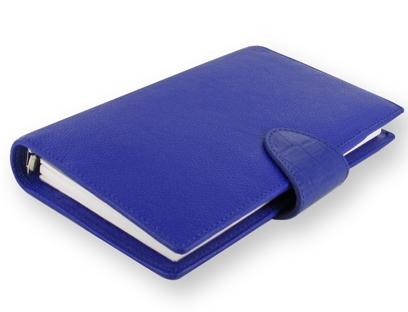 Diář Filofax Calipso Compact modrý