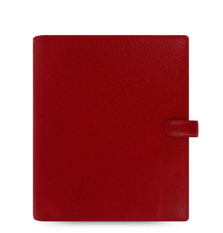 Diář Filofax Finsbury A5 červený