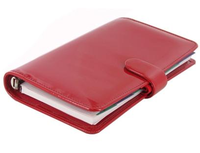 Diář Filofax Patent Compact červený