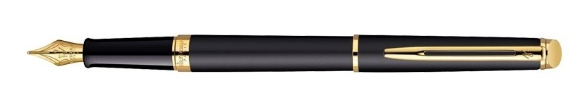 Waterman Hémisphere Essential Matt Black GT, plnicí pero