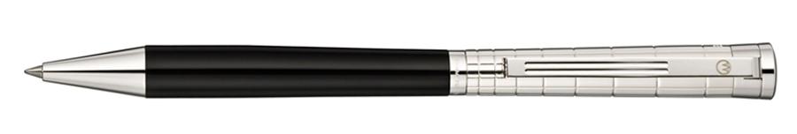 Waldmann Xetra Black Silver, kuličkové pero