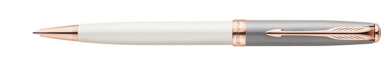 Parker Sonnet Subtle Pearl & Grey, kuličkové pero