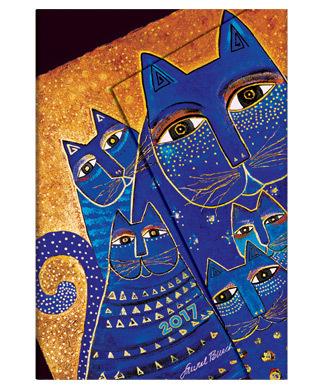 Paperblanks diář Mediterranean Cats Mini 2017