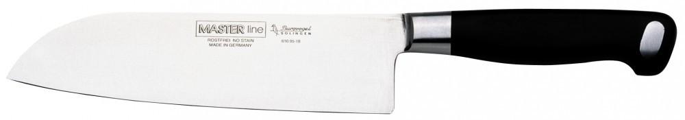 Nůž Burgvogel Solingen 6100.951.18.0 SANTOKU ML
