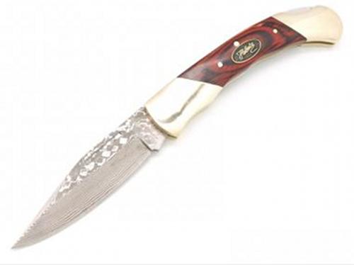 Damaškový kapesní nůž Herbertz Michal Damast