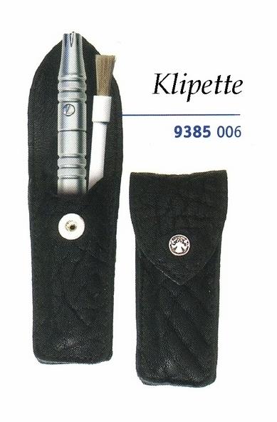 Zastřihávač chloupků DOVO Solingen KLIPETTE 9385 006 s koženým pouzdrem