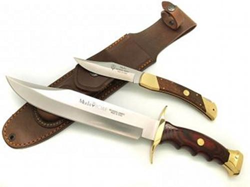 Nože Muela BW 22N - zavírací a pevný nůž