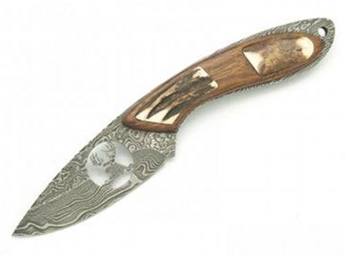 Damaškový nůž Albainox 31949 motiv jelen
