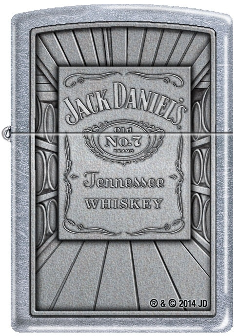 Zippo zapalovač 25387 Jack Daniels Label Barrel
