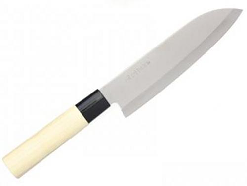 Japonský kuchyňský nůž Santoku Haller