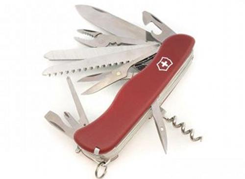 Nůž Victorinox WORKCHAMP červený