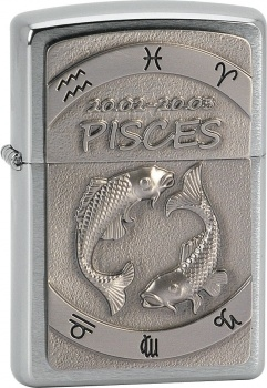 Zippo zapalovač 21605 Pisces Emblem