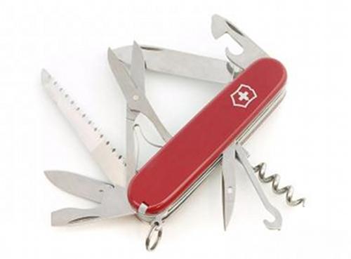 Nůž Victorinox HUNTSMAN červený.