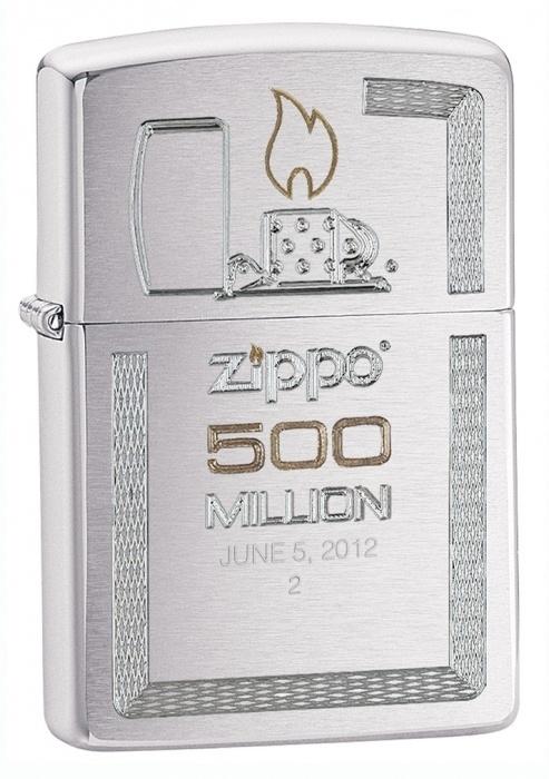 Zippo zapalovač 21677 500 Millionth Replica
