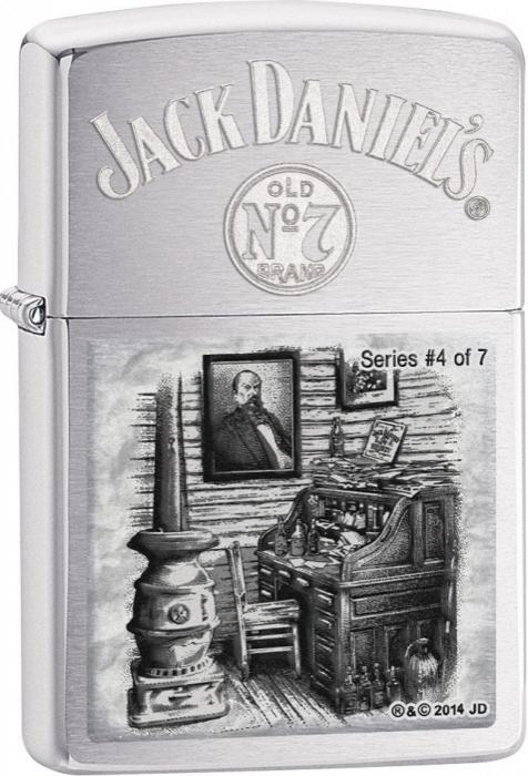 Zippo zapalovač 21787 Jack Daniels Scenes From Lynchburg 4