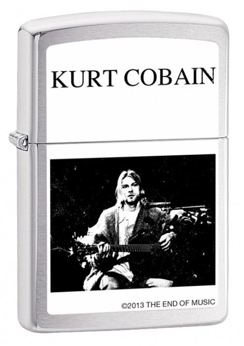 Zippo zapalovač 21824 Kurt Cobain