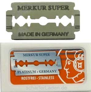 Žiletky holicí MERKUR Solingen Super Platinum 910 000