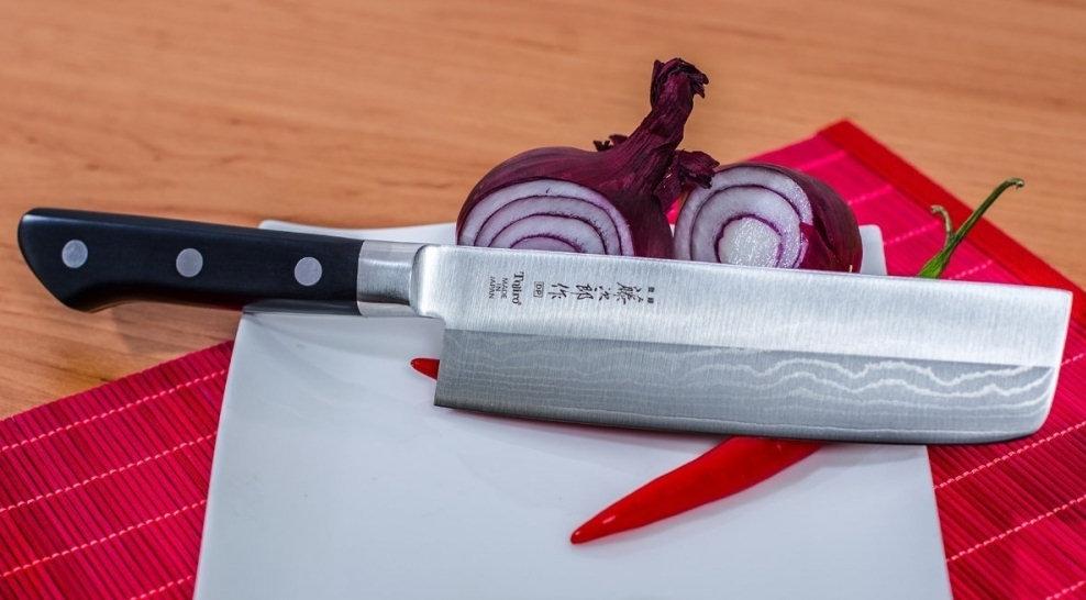 Tojiro DP Damascus Nakiri kuchařský nůž 16,5 cm