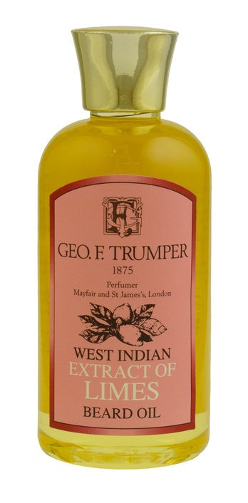 Geo F. Trumper Limes, olej na vousy