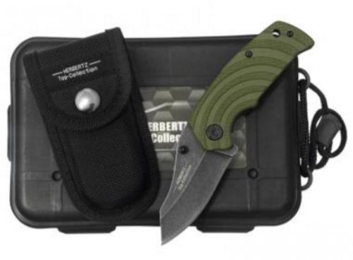 Zavírací nůž Herbertz 524309 TC zelený