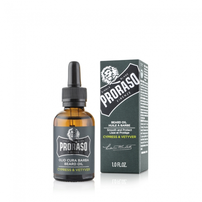 Proraso Cypress and Vetyver olej na vousy 30 ml