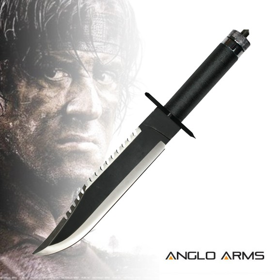 ANGLO ARMS Nůž Rambo 2 - černý