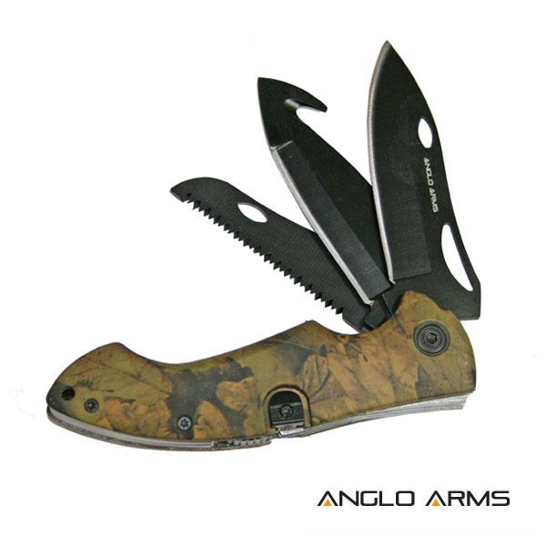ANGLO ARMS Nůž Zavírací Multi Tool Camou