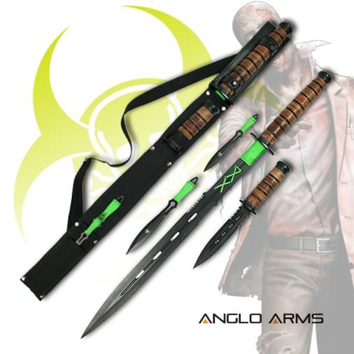 ANGLO ARMS ZOMBIE Sada Slayers Kit 4ks