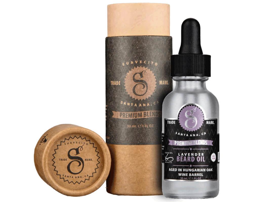 Suavecito Lavender, olej na vousy