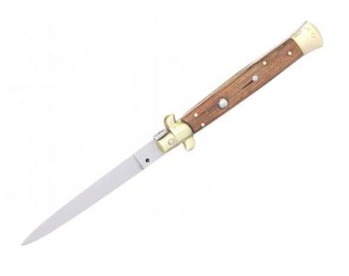 Vystřelovací nůž Fox 28 dřevo.