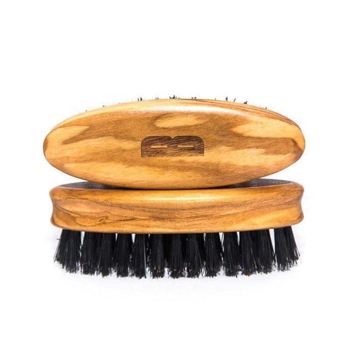BSC kartáč na vousy z olivového dřeva