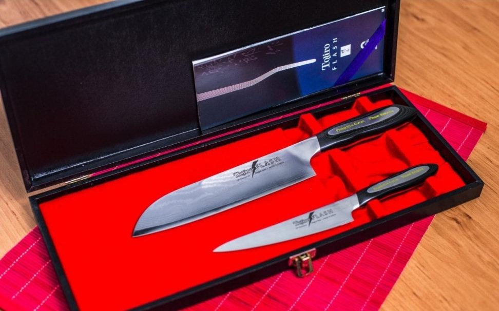 Tojiro Flash dárková sada nožů 2 ks