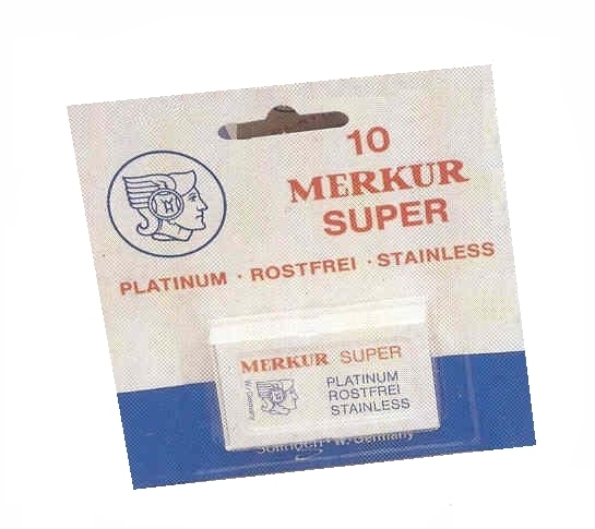 Merkur Solingen Super platinum žiletky