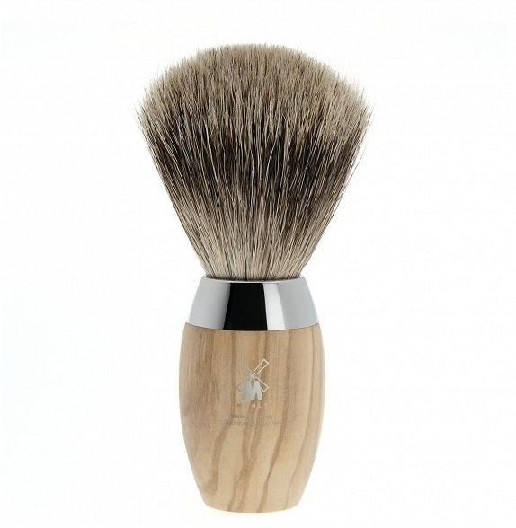 Mühle Kosmo Olive Fine Badger, štětka na holení