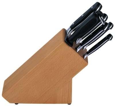 Dřevěný blok nožů Burgvogel Solingen 1460.911.00.0 - 6 dílný