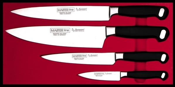 Souprava nožů Burgvogel Solingen 9340.951.00.0 - Master Line - 4 dílná