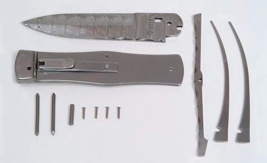 Stavebnice nože - Vyhazovací nůž Mikov PREDATOR - 241-D-1