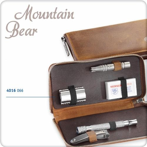 Holicí souprava MERKUR Solingen 4016 066 Mountain Bear