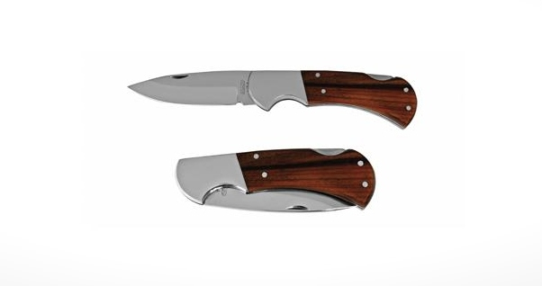 Mikov Hablock - lovecký zavírací nůž s pojistkou - 220-XD-1