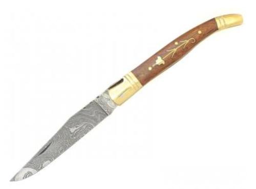Zavírací nůž Laguiole Bougna 5262 damašek