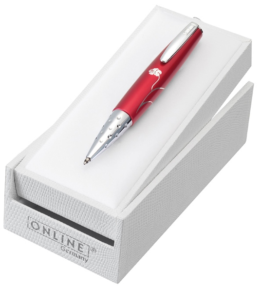 Online Charm Ruby Red, kuličkové pero