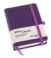 Online Viva Colori A6 fialový