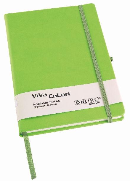Online Viva Colori A6 zelený