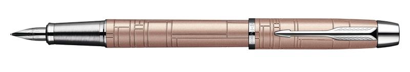 Parker I.M. Premium Metallic Pink, plnicí pero