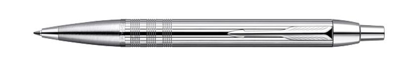 Parker I.M. Premium Shiny Chrome Chiselled, kuličkové pero