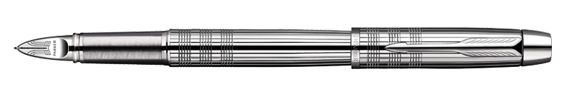 Parker IM Premium Shiny Chrome Chiselled 5th