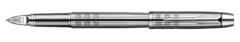 Parker IM Premium Shiny Chrome Chiselled 5th